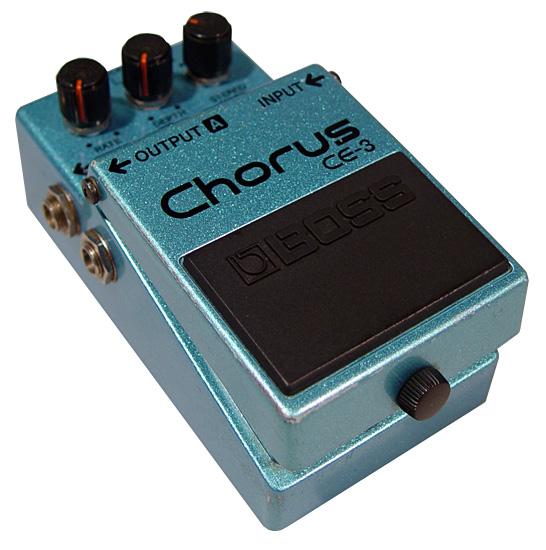BOSSのエフェクター、CE-3を徹底解説!【Chorus】